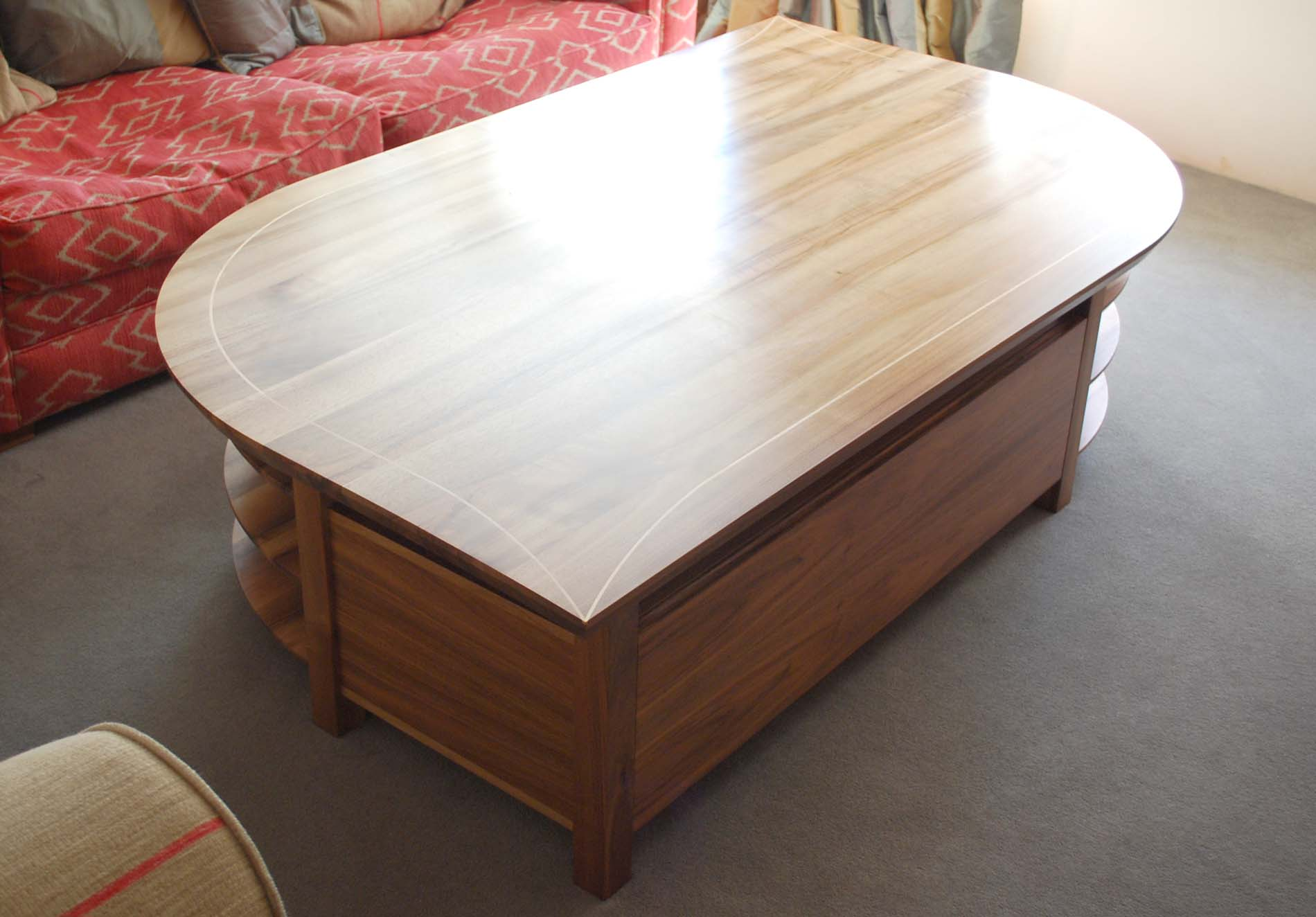 New piece Lake Farm Coffee Table Diary of a Fine Furniture Maker